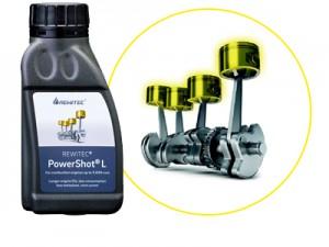 燃焼エンジン用コーティング剤「PowerShot®」