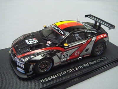 1/43  GT-R GT1 2011 JRM Racing NO.23 (2012-03-05)